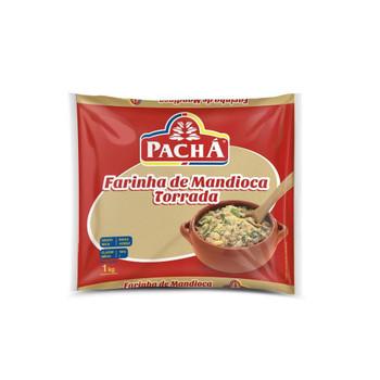 FARINHA DE MANDIOCA TORRADA PACHA 1kg