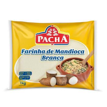 FARINHA DE MANDIOCA BRANCA PACHA 1kg
