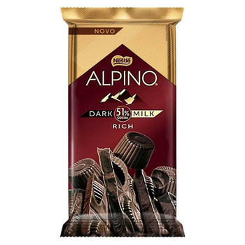CHOCOLATE ALPINO DARK 51% RICH 85G