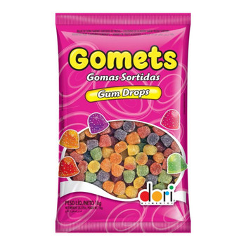 BALA DE GOMA GOMETS BAG 1kg