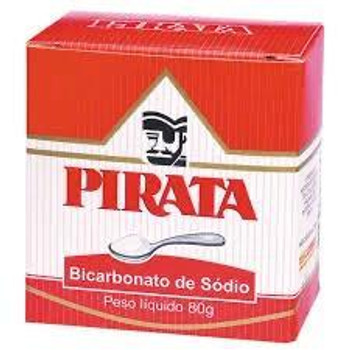 BICARBONATO DE SODIO PIRATA 80G