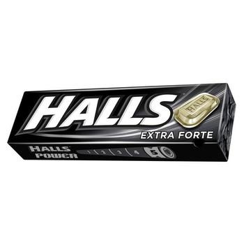 Bala tradicional Halls no sabor extra forte, bala refrescante que pode ser apreciada em vários momentos