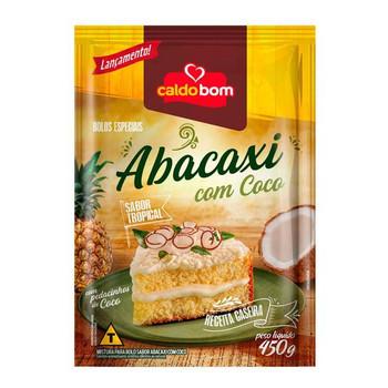 BOLO DE ABACAXI COM COCO CALDO BOM 450G