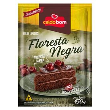 BOLO DE FLORESTA NEGRA CALDO BOM 450G