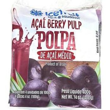 POLPA DE ACAI ICE FRUIT 400GR