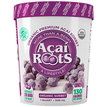 AÇAÍ ROOTS PINT SORBET 16OZ