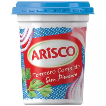 Tempero em Pasta Completo sem Pimenta 300g. Temperos. Indicado no Preparo de: Carnes, Aves, Arroz e Massas.