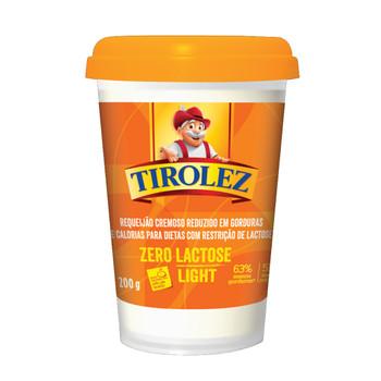O Requeijão Light Zero Lactose é tão gostoso quanto a versão light e apresenta redução de 63% de gorduras totais e 51% de calorias.