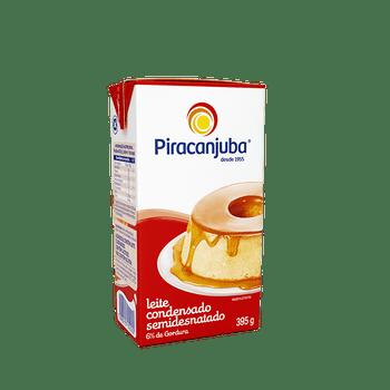 LEITE CONDENSADO SEMIDESNATADO PIRACANJUBA 395GR