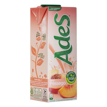 Combine todos os benefícios da soja com o sabor natural do pêssego. AdeS pêssego possui nutrientes, proteínas, zinco e vitaminas ideais para sua família crescer forte e saudável. Além disso, fortalece o corpo por ter o mesmo teor de cálcio que o leite. E é uma delícia!