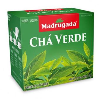 O chá verde é feito das folhas da planta.
