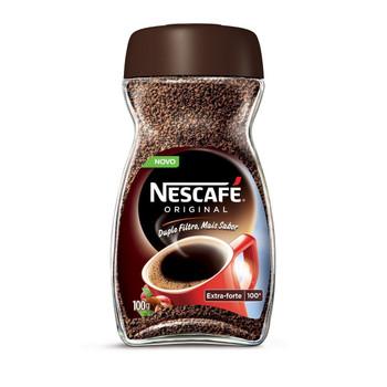 NESCAFÉ® Original, é o café solúvel extra forte, para quem aprecia começar o dia com uma dose extra de disposição.