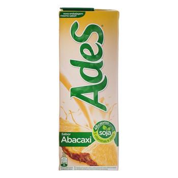 O Ades Abacaxi é uma bebida de soja, produzida com Soyforce, que te dá força para fazer mais, além de ser delicioso!