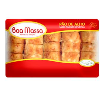 PAO DE ALHO COM PIMENTA BOA MASSA