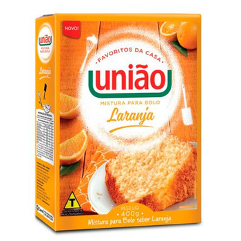 BOLO DE LARANJA UNIAO 400GR