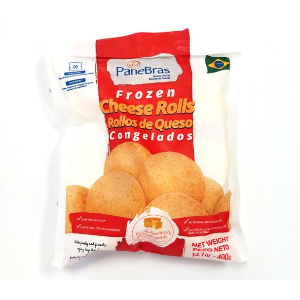 Em alguns minutos você tem o pão de queijo quentinho e delicioso!