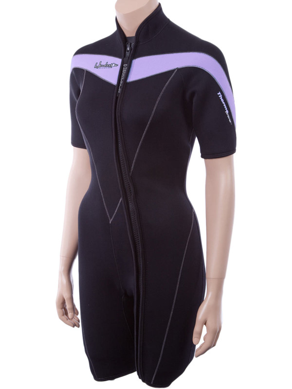 3mm Scuba Wetsuit Henderson Man Thermoprene Shorty Front Zip