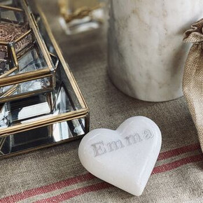 Marble Personalised Heart