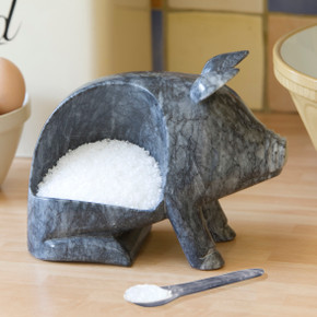 Marble Salt Pig
