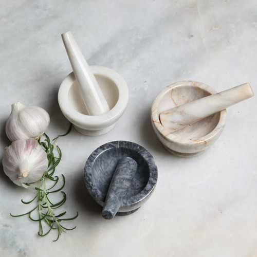 Marble Baby Pestle & Mortar