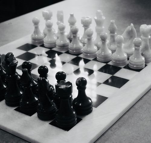Marble Chess Set