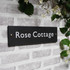Slate Medium House Sign - Classic Font