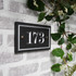 Slate House Number  - Traditional Font