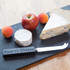 Cheese Knife with Slate Engraved Handle