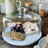 Marble Serving Platter With Glass Dome