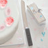 Wedding Cake Knife Personalised Slate Handle