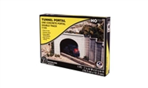 Woodland Scenics Concrete Double Tunnel Portal