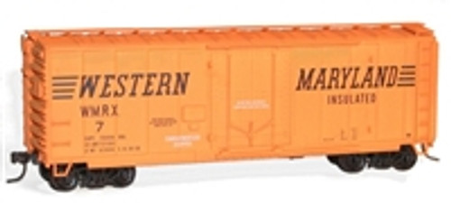 Accurail Western Maryland 40' Plug Door Box Car