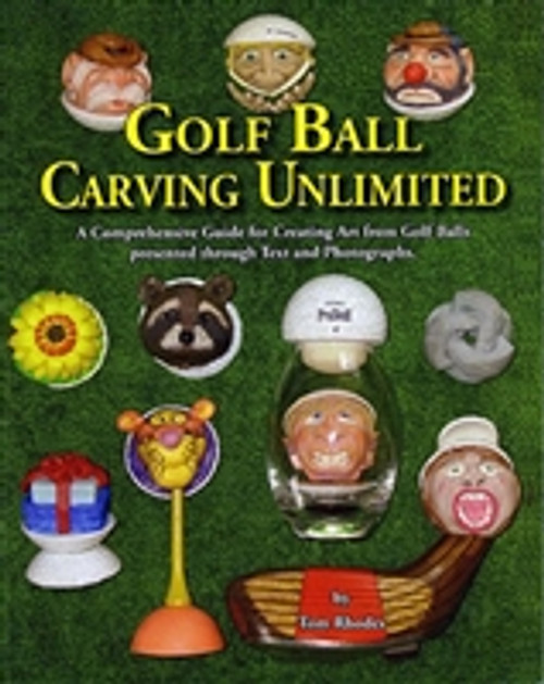 Golf Ball Carving Unlimited by Tom Rhodes