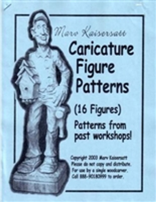 Caricature Figure Patterns by Marv Kaisersatt