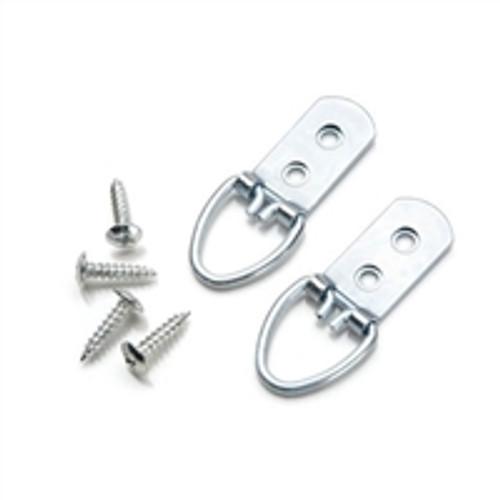 Darice Wide Ring Hanger  - Silver