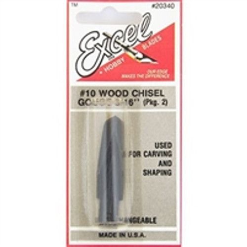 EXCEL V Gouge Blades 2 pack