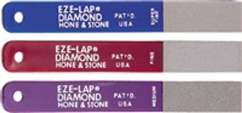 EZE-LAP Diamond Sharpener - Combo Pack Med, Fine, Super Fine