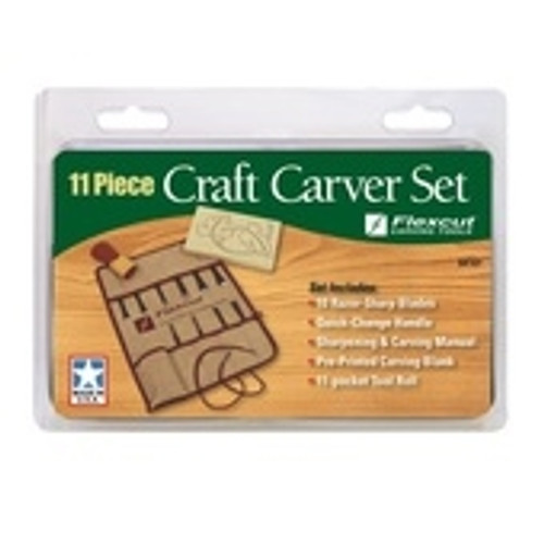 SK107 Flexcut 11 piece Craft carver set