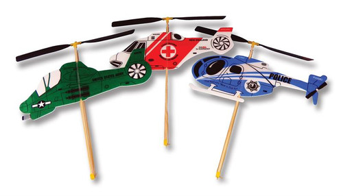 Guillows Foam wind up Copter