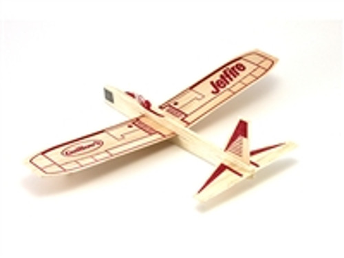 GUILLOW's Jetfire Balsa Wood Glider MADE IN USA