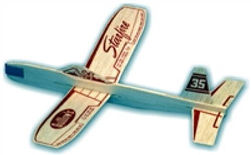 GUILLOW's Starfire Balsa Wood Glider MADE IN USA