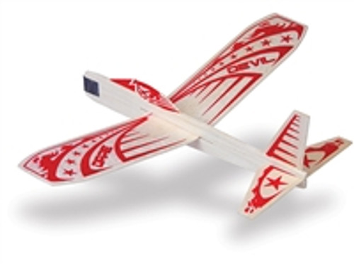 GUILLOW's Daredevil Balsa Wood Glider MADE IN USA