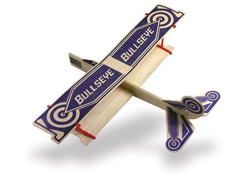 Guillows Bi-Plane Glider - Bullseye