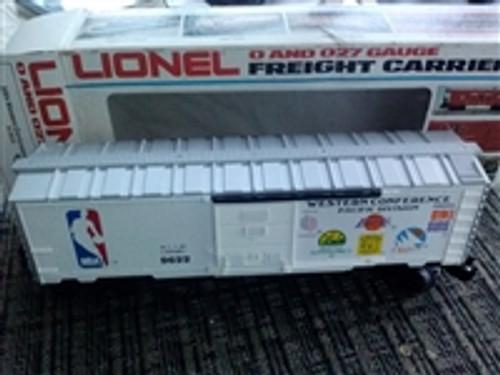 Lionel NBA Western Division Boxcar