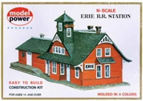 Model Power Combination RR Station N scale