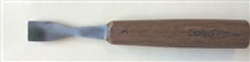 "OCCT .625""  (5/8) Wide Gouge 4.5""  Walnut Handle #5 Sweep"