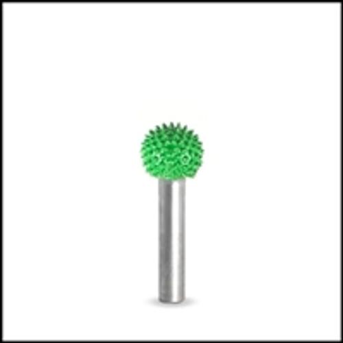 SABURR Coarse 1/2 inch Sphere 1/4 inch shaft