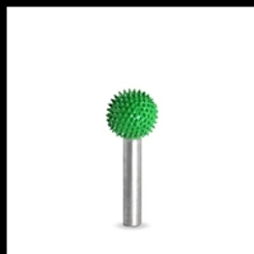 SABURR Coarse 5/8 inch Sphere  1/4 inch shaft