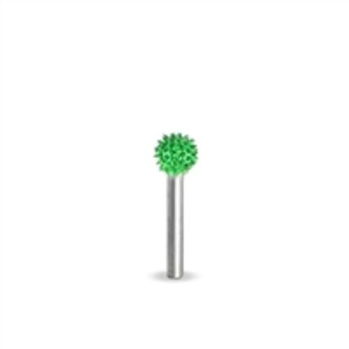 SABURR Coarse 1/4 inch Sphere 1/8 inch shaft
