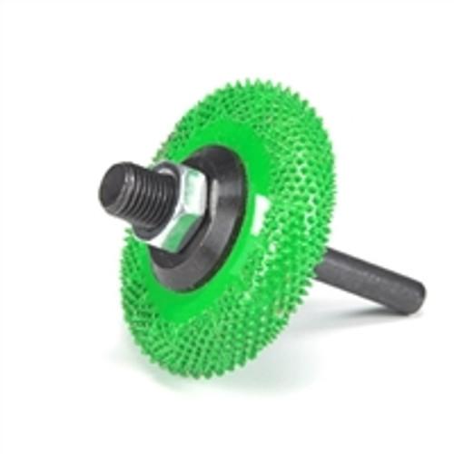 SABURR 2 inch Buzzout wheel Coarse Grit (Green)